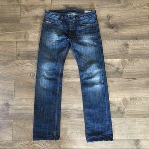 DIESEL Safado Regular Slim Straight Jean sz 30x32
